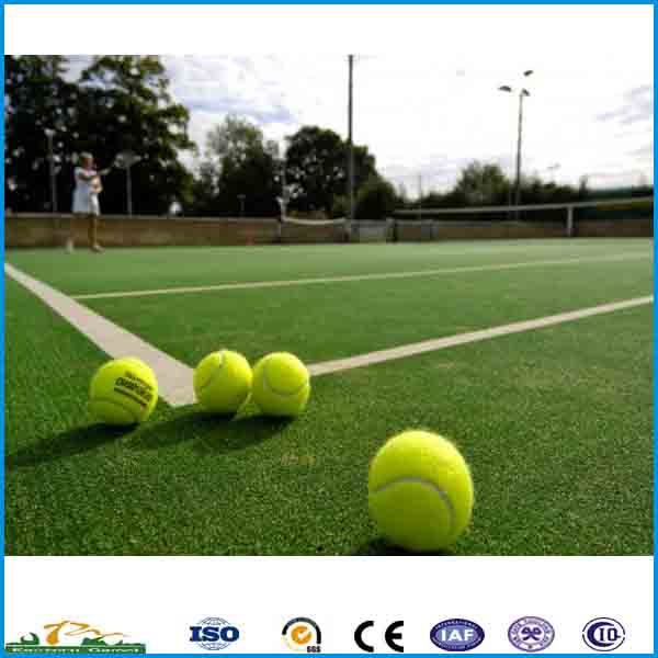 Factory direct sell artificial tennis grass for gymnasium