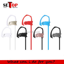 Wired earphone Q9 3.5mm jack sport ear loop hook cushions headset for all bluetooth devices