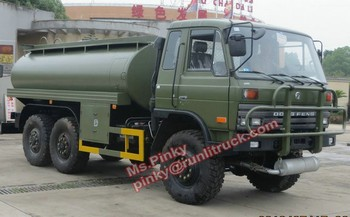 6*6 Fuel Truck 6x6 Off Road Fuel Tank Truck Military Vehicle For Deser Big Discount For Sales