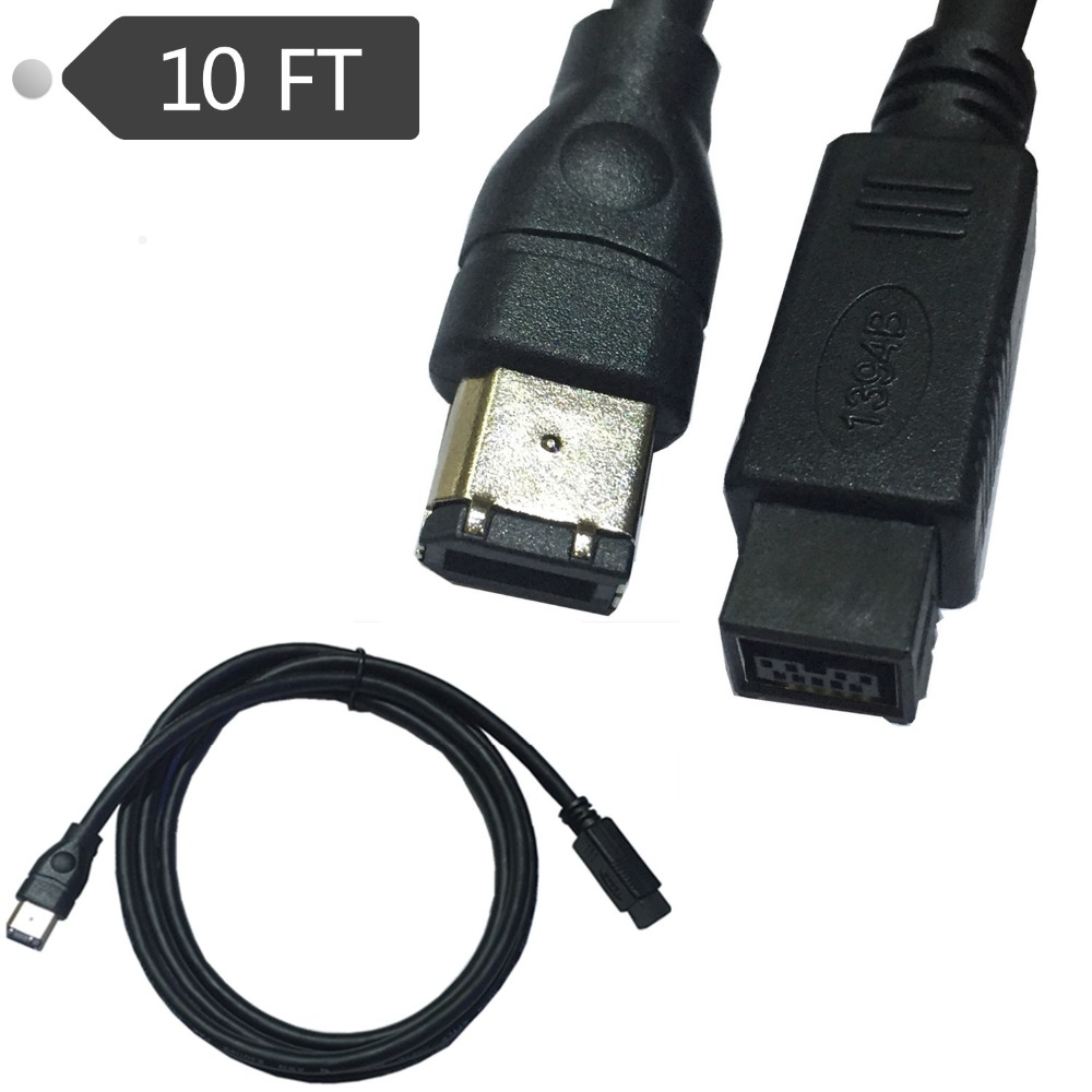 Firewire 800 9 Pin To 6 Pin Cable, Firewire 800 9 Pin To 6 Pin Cable ...
