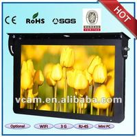 22 inch Bus advertising lcd wifi