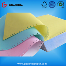 High quality long duration time blank or preprinted computer continuous paper