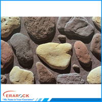 New cobble stone tiles garden pebble stone decoration