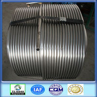 ISO certified 304 stainless steel condenser coil tube factory direct production