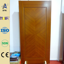 AFOL-ZD3106-2 HDF Veneer Wooden Door office solid wood doors