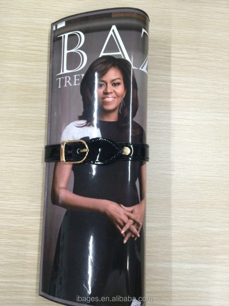 Hot sale Michelle Obama magazine clutch bag ( W350)