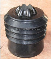 Conventional top rubber cementing plug