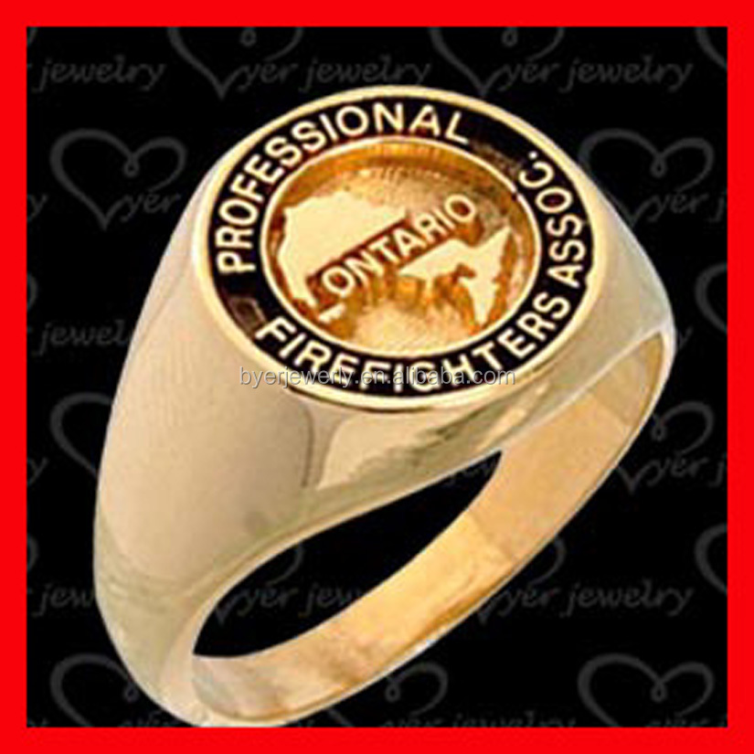 gold rings for women girls solid signet ring