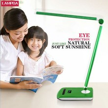 Shenzhen factory provide USB charging eye protection table lamp