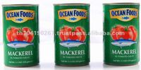 Canned Mackerel in Tomato Sauce (155g Jitney can)