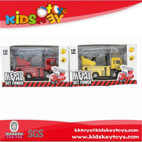 1:32 Pull back alloy model toy fire truck toy vehicle metal truck toy diecast car