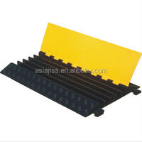 different design rubber cable protector ramp