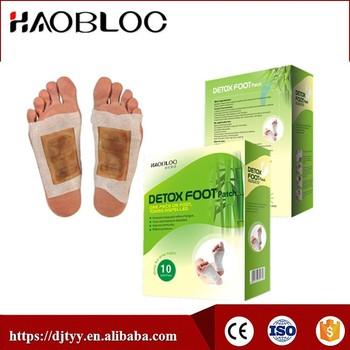 Original Direct Factory Detox Foot Patch With Great Effect Help Remove Toxins, Revitalize the Body to Better Health