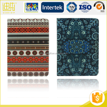 Colorful pattern pu rugged pc protective case for tablet