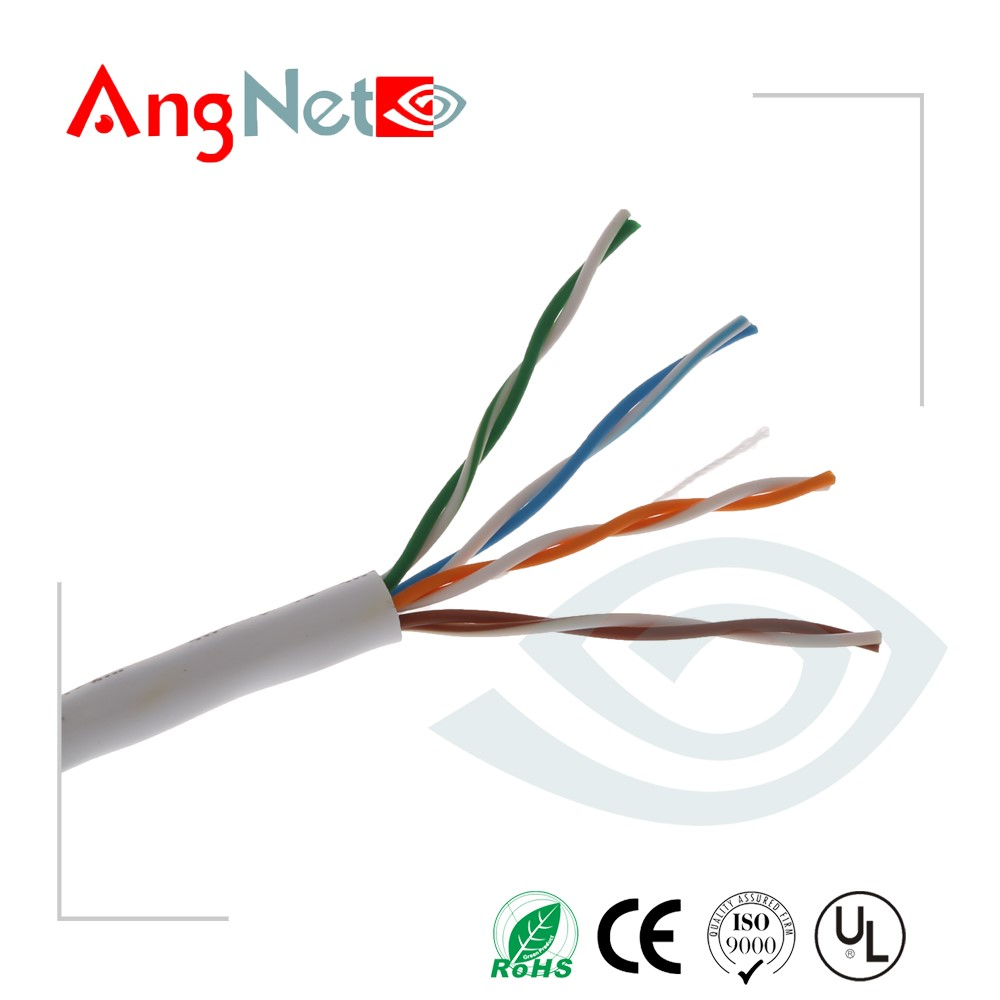 Factory price 4 pair 8 core 350Mhz cat5e computer cable