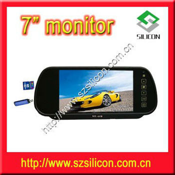 7 inch HOT SALE!!! auto rearview mirror for your car