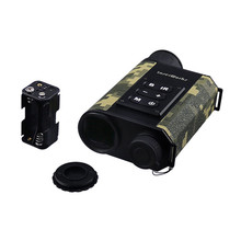 Built-in Digital Compass Laser Rangefinder Camo Color Hunting Night Vision Telescope