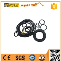 Hydraulic oil gear pump shaft seal for PC110 PC120 PC200 PC210 excavator rubber sealing