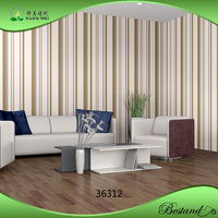 Home Designs Wallpaper XuanMei PVC Vinyl/Non Woven Wallpaper OEM Provided