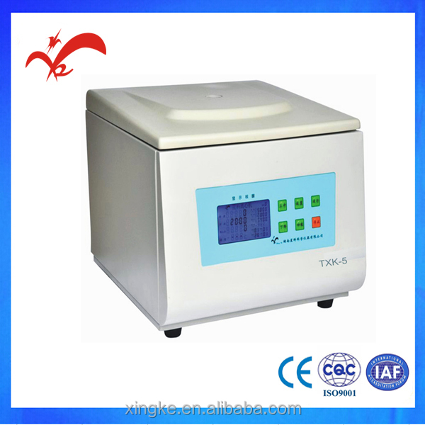 TXK-5 blood cell washing machine with centrifuge for lab from china supplier