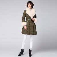 New Arrival Fox Fur Coat Long