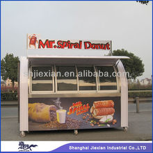 Shanghai Jiexian FS290-D crepes car food truck crepes food carts mobile hot food carts for sale
