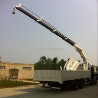 factory sale 16ton hydraulic heavy lift crane truck in dubai