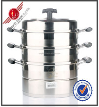 Stainless steel electric commercial and fish food steamer