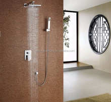 10 years guarantee luxury in wall conceal bathroom shower faucet building plumbing materials
