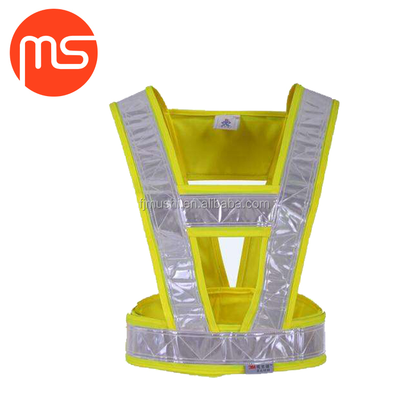 Best price China supply reflective safety belt for clothing