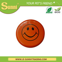 Cheap plastic high quantity promotional dog frisbee for pet toy