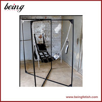 Hot sell Fantasy Sex Swing bondage High Quality Black Love Aid / Fetish / Bondage leather Swing, Sling Pillow, Sex Toys