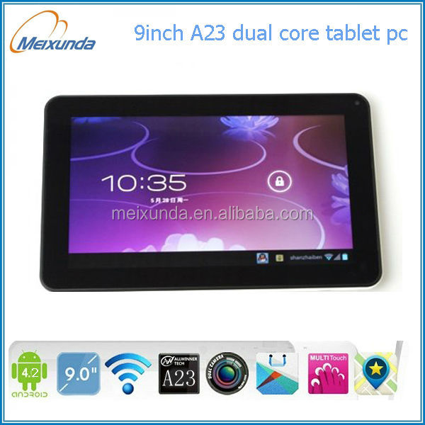 tv box android 4.2 sex porn tablet pc 9 inch allwinner A23 DUAL core