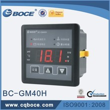 Digital Oil Pressure Water Temperature Voltage Meter Gauge GM40