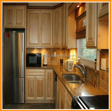 China factory supply good quality kitchen cabinet design solid wood kitchen