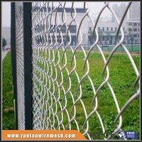 factory price vinyl coated chain link fence
