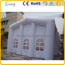 White inflatable wedding party tent design for sale