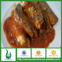 Fish tin packing canned sardine in tomato sauce