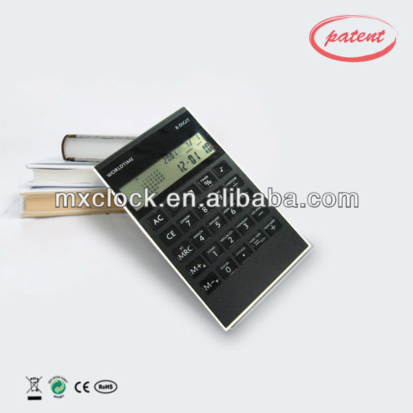 YD 9012 best selling 8-D calculator with clock