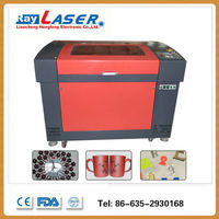 motorized worktable 6090 laser engraving cutting machine 600*900mm for granite images