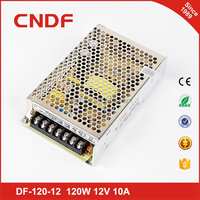 CNDF Hot best sale 12V 10A power supply factory sale DF-120-12