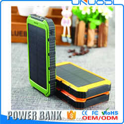 buy the best brand of power banks online 10000mah solar 5V Battery charger