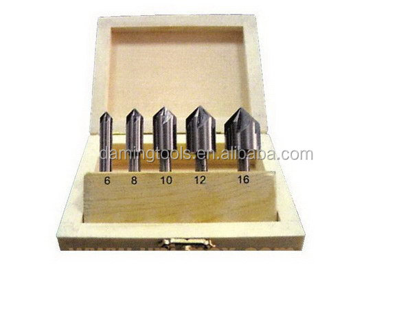 Fashion best sell zero flute countersinks sets