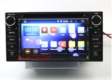 Universal Android Car DVD Player Auido Video for Toyota RAV4 Hilux Prado Camry dvd gps navigation with bluetooth car radio