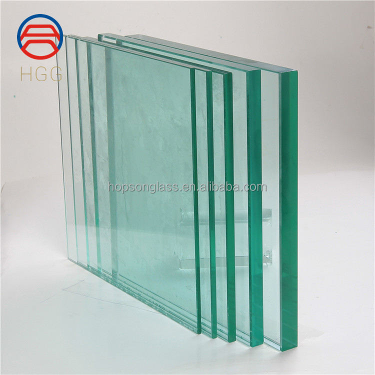 Clear tempered glass 10mm 6mm 8mm glass price per square meter for railings