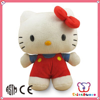 ICTI Audit Hot sale soft hello kitty wholesale plush customized stuffed toys