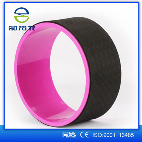 High Quality Anti-slip Green Material TPE Yoga Wheel <strong>Eco</strong>