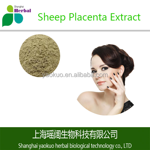 Anti-aging Top Grade Sheep Placenta Extract Powder