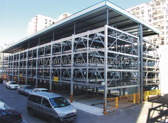 Mechanical Puzzle multi level auto independ parking system