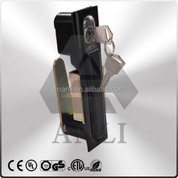 Hidden indusctrial cabinet lock, Electric panel lock, electric latch